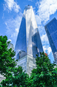 ワンワールドトレードセンター(ニューヨーク・マンハッタン)の写真素材 [FYI01259203]