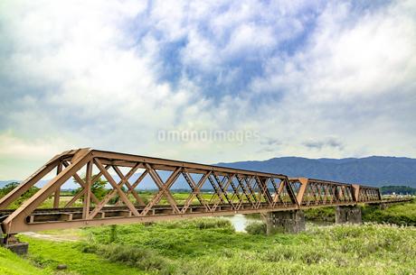 日本最古の鉄橋の写真素材 [FYI01259354]