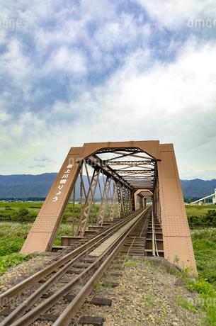 日本最古の鉄橋の写真素材 [FYI01259355]