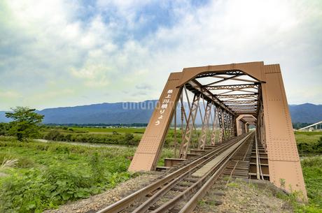 日本最古の鉄橋の写真素材 [FYI01259356]