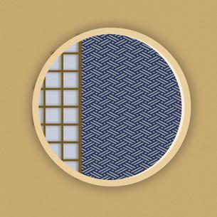 和柄 和風 日本的 和室 和柄背景 和風背景 JAPAN 和の背景のイラスト素材 [FYI01259502]