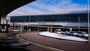 冬の富山駅の写真素材 [FYI01259605]