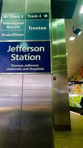 フィラデルフィア ジェファーソン駅の写真素材 [FYI01259608]