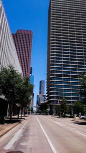 ヒューストンの高層街の写真素材 [FYI01259609]