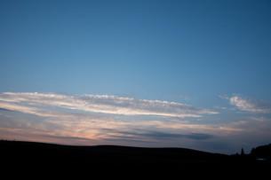 夕暮の空の写真素材 [FYI01259690]