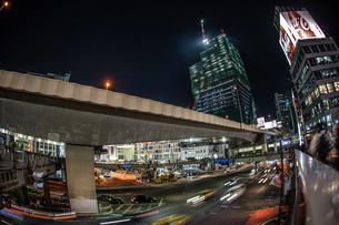 渋谷の夜景のイメージの写真素材 [FYI01259699]