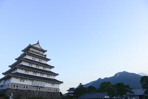長崎,島原城の写真素材 [FYI01259819]