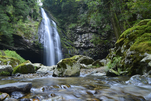 島根県,龍頭が滝の写真素材 [FYI01259847]