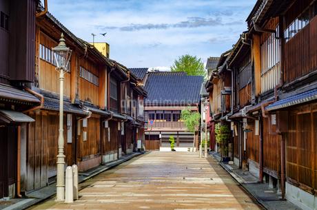 金沢 ひがし茶屋街の写真素材 [FYI01259853]
