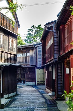 金沢 ひがし茶屋街の写真素材 [FYI01259854]