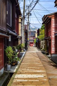 金沢 ひがし茶屋街の写真素材 [FYI01259856]