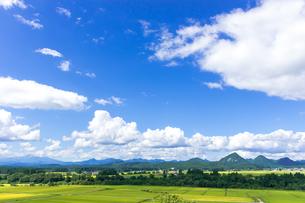 さわやか 山形県金山町の写真素材 [FYI01259884]
