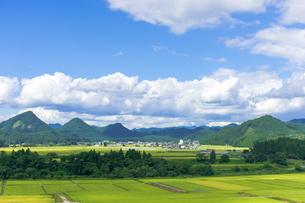 さわやか 山形県金山町の写真素材 [FYI01259892]