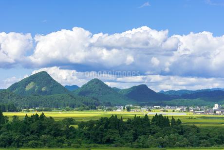 さわやか 山形県金山町の写真素材 [FYI01259893]