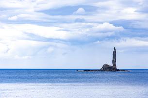 北海道 積丹 ローソク岩の写真素材 [FYI01259907]