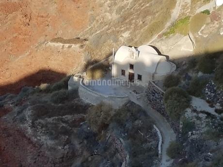 サントリーニ イアの教会 santorini oiaの写真素材 [FYI01260262]