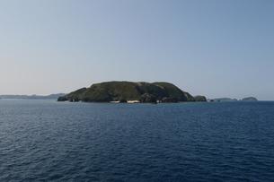 無人島の全景の写真素材 [FYI01260338]