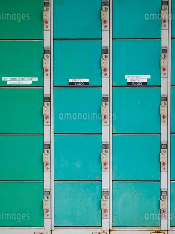 コインロッカーの写真素材 [FYI01260422]