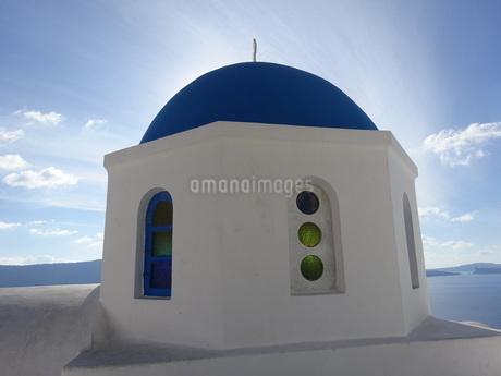 サントリーニ島 イアの景色 santorini oiaの写真素材 [FYI01260466]