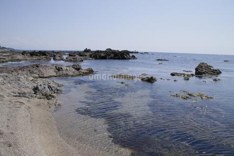 日本海の海岸の写真素材 [FYI01260509]
