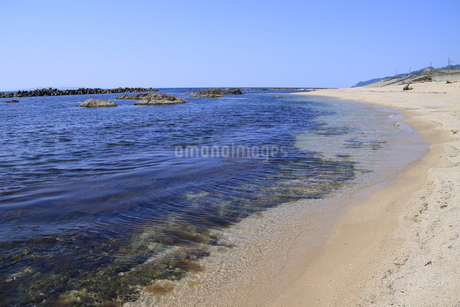 日本海の海の写真素材 [FYI01260510]