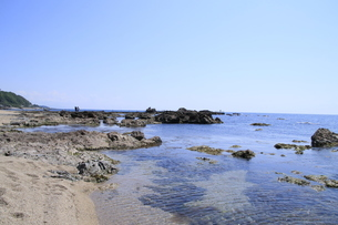日本海の海の写真素材 [FYI01260511]