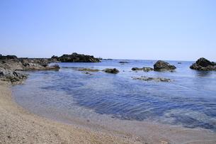 日本海の海の写真素材 [FYI01260512]
