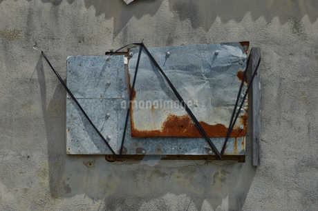 アート風に縛られた鉄の写真素材 [FYI01260554]