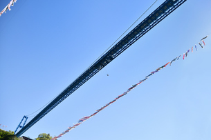 竜神大吊橋のバンジージャンプの写真素材 [FYI01260563]