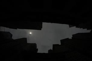 ニューヨーク・ウォール街の街並みの写真素材 [FYI01260570]