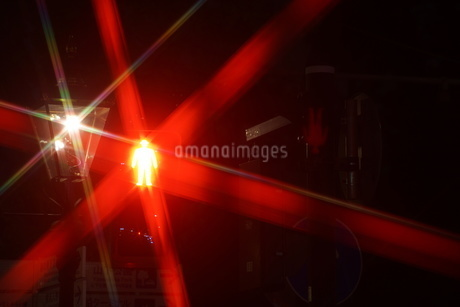 歩行者用信号機イメージの写真素材 [FYI01260612]