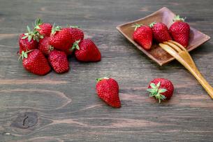 イチゴの写真素材 [FYI01261030]