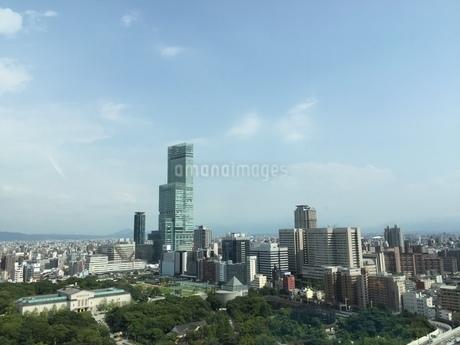 通天閣からの風景の写真素材 [FYI01261143]