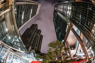 六本木一丁目の夜景の写真素材 [FYI01261255]