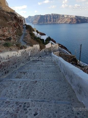 サントリーニ イアの景色 santorini oiaの写真素材 [FYI01261311]