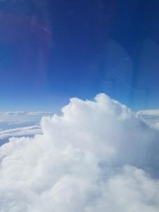 サントリーニ島 イアの空 santorini oiaの写真素材 [FYI01261313]