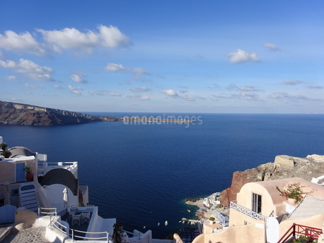 サントリーニ島 イアの風景 santorini oiaの写真素材 [FYI01261325]