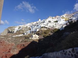 サントリーニ島 イアの風景 santorini oiaの写真素材 [FYI01261327]