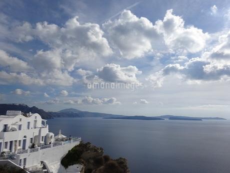 サントリーニ島 イアの風景 santorini oiaの写真素材 [FYI01261328]