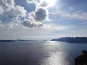 サントリーニ島 イアの風景 santorini oiaの写真素材 [FYI01261329]