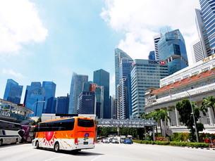 シンガポール 街並みの写真素材 [FYI01261346]