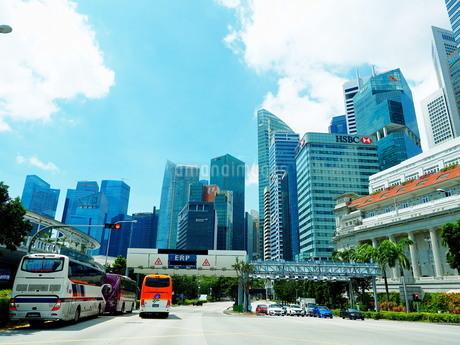 シンガポール 街並みの写真素材 [FYI01261347]