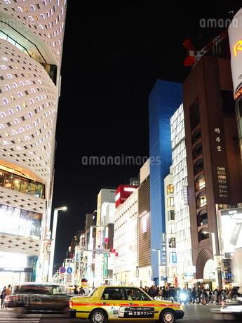 《東京都》銀座・都市風景の写真素材 [FYI01261366]