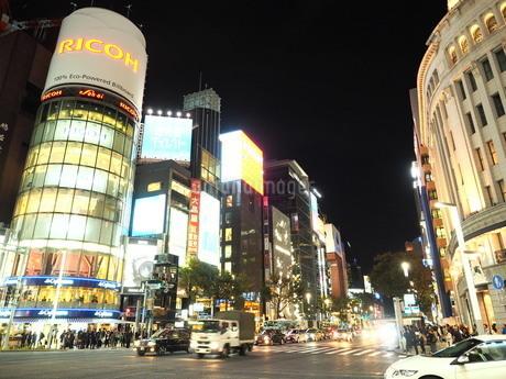《東京都》銀座・都市風景の写真素材 [FYI01261367]