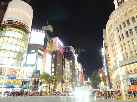《東京都》銀座・都市風景の写真素材 [FYI01261370]