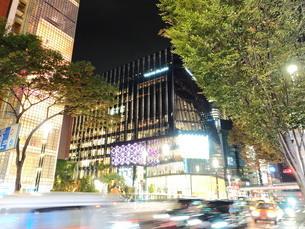 《東京都》銀座・都市風景の写真素材 [FYI01261373]