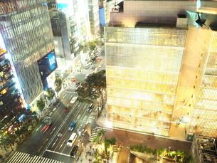 《東京都》銀座・都市風景の写真素材 [FYI01261381]