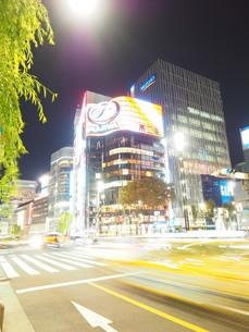 《東京都》銀座・都市風景の写真素材 [FYI01261382]