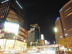 《東京都》銀座・都市風景の写真素材 [FYI01261386]