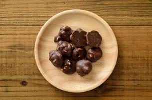 ピーナッツチョコの写真素材 [FYI01261592]